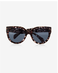 Express Tortoiseshell Cat Eye Sunglasses