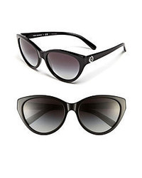 Tory Burch 57mm Retro Sunglasses Black Grey Gradient One Size