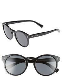 Valentino Garavani Valentino 50mm Retro Sunglasses Dark Havana