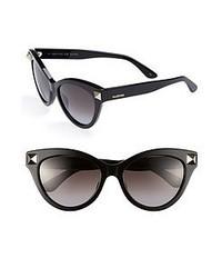 Valentino Retro Sunglasses Black One Size