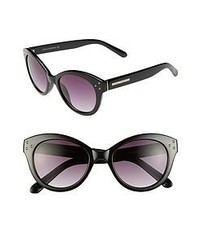 Vince Camuto 51mm Retro Cat Eye Sunglasses Black One Size