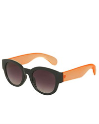 Topshop Warrior Wayfarer Sunglasses