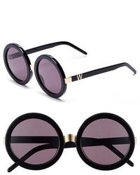 Wildfox Couture Wildfox Malibu 56mm Round Sunglasses