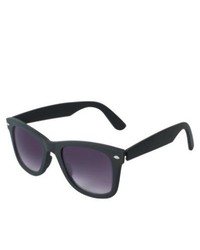 Xhilaration Rubberized Sunglasses Black