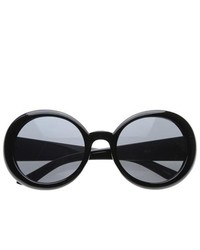 ZeroUV Oversized Round Circle Sunglasses