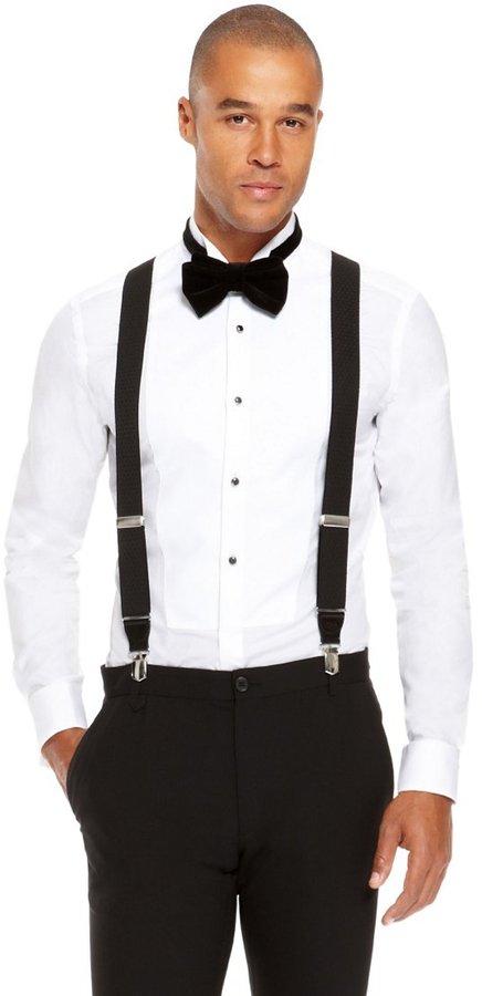 8b011148b ... Hugo Boss Bratt Black Suspenders One Size Black