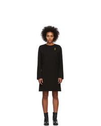 McQ Alexander McQueen Black Shizoku Sweat Dress