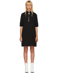 Marc Jacobs Black Zip Sweatshirt Dress
