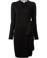 Diane von Furstenberg Wrap Around Sweater Dress