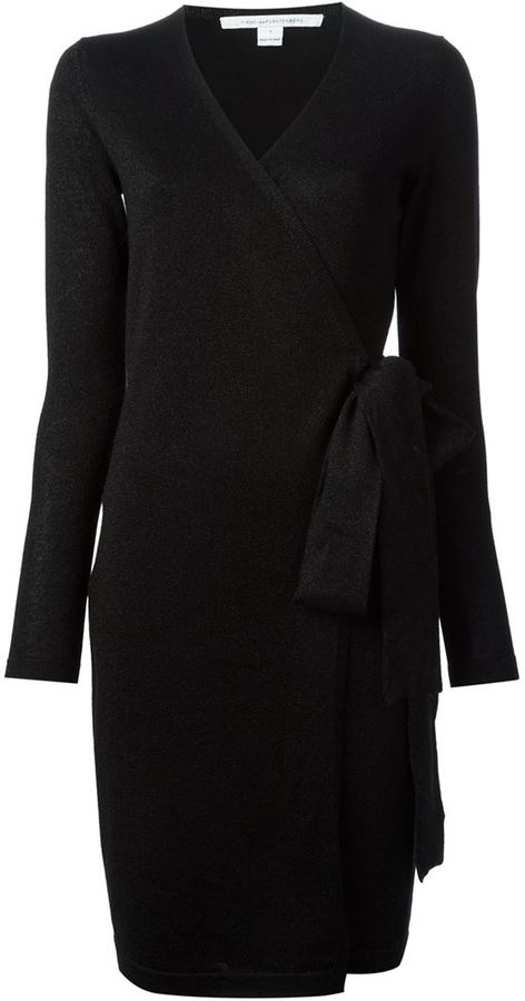 1143084fa89 ... Diane von Furstenberg Wrap Around Sweater Dress