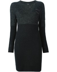 Diesel Fitted Sweater Dress