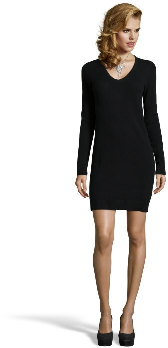 Turmec » long sleeve black sweater dress cheap