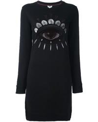 Kenzo Nagai Eye Sweatshirt Dress