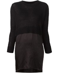 MM6 MAISON MARGIELA High Low Hem Sweater Dress