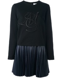 MSGM Sweatshirt Inset Dress