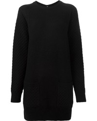 Proenza Schouler Crosshatch Knit Sweater Dress