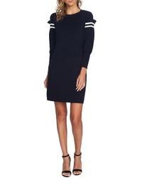 CeCe Puffed Sleeve Sweater Dress