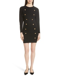 A.L.C. Rhea Button Front Sweater Dress