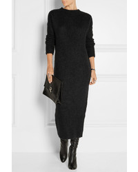 Haider Ackermann Ribbed Mohair Blend Sweater Dress