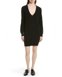 Equipment Rosemary V Neck Cashmere Sweater Dress