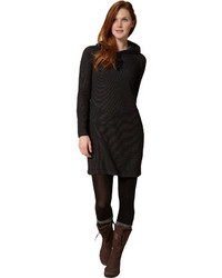 Royal Robbins Torrey Thermal Dress Jet Black Sweater Dresses