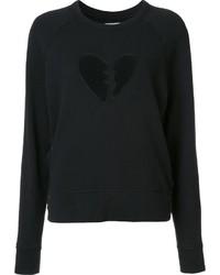 Rag & Bone Jean Broken Heart Sweatshirt