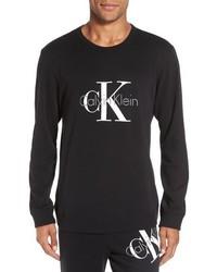 Calvin Klein Origins Cotton Blend Crewneck Sweatshirt