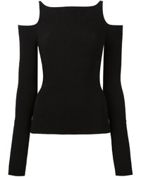 Roberto Cavalli Cold Shoulder Jumper