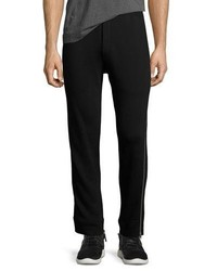 McQ Alexander Ueen Side Zip Cotton Sweatpants