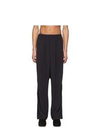Random Identities Black 2 Stripe Lounge Pants