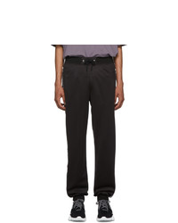Givenchy Black 4g Bands Lounge Pants