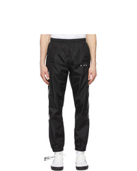 Off-White Black And Grey Diag Track Pants