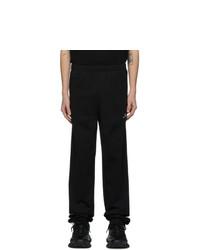 Balenciaga Black And White Bb Lounge Pants