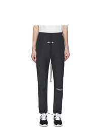 Essentials Black Canvas Lounge Pants