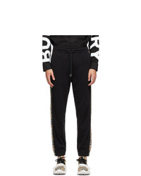Burberry Black Check Lounge Pants