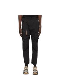 Burberry Black Combat Lounge Pants