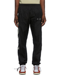 Off-White Black Diag Cuffed Track Pants