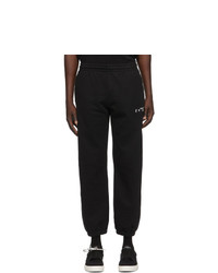 Off-White Black Diag Lounge Pants
