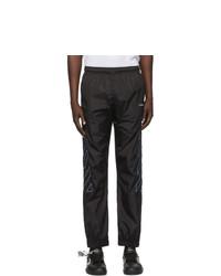 Off-White Black Diag Nylon Lounge Pants
