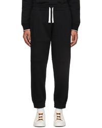 Ermenegildo Zegna Black Essential Lounge Pants