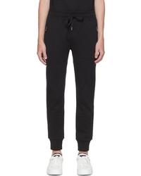 Dolce & Gabbana Black Essentials Logo Lounge Pants