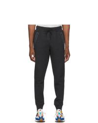 New Balance Black Fleece Fortitech Lounge Pants