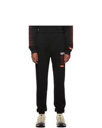 Heron Preston Black Fleece Lounge Pants