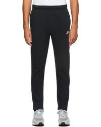 Nike Black Fleece Sportswear Club Lounge Pants