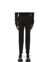 Julius Black Frayed Knee Lounge Pants
