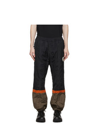 Undercover Black Graphic Lounge Pants