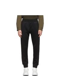 Alexander McQueen Black Hybrid Lounge Pants