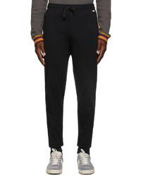 Paul Smith Black Jersey Lounge Pants