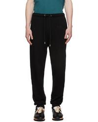 Lanvin Black Jogging Lounge Pants