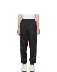 adidas Originals Black Lock Up Logo Track Pants